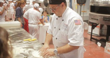 Gino Rago at the World Pizza Championships
