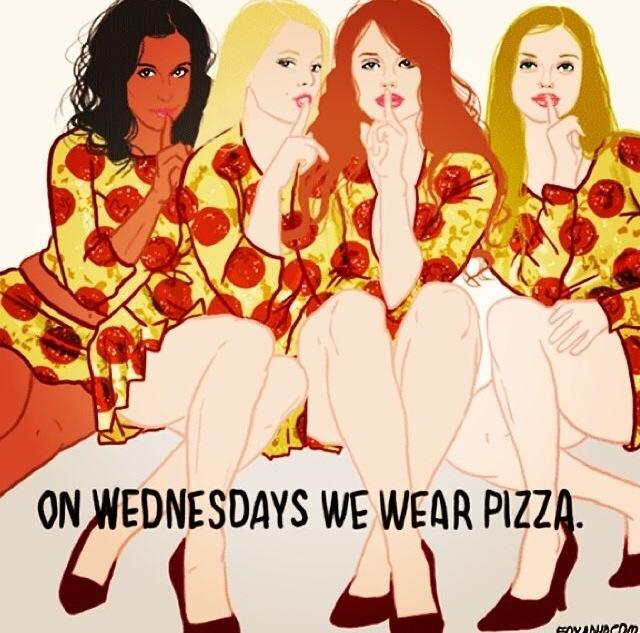 Pizza for Life Facebook Wall Post from Amanda Griffin
