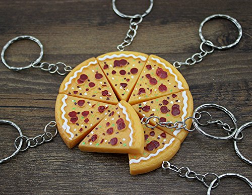 Pizza-fy your Life with Pizza Keychains