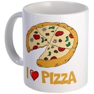 Pizza-fy your life with a Pizza Mug