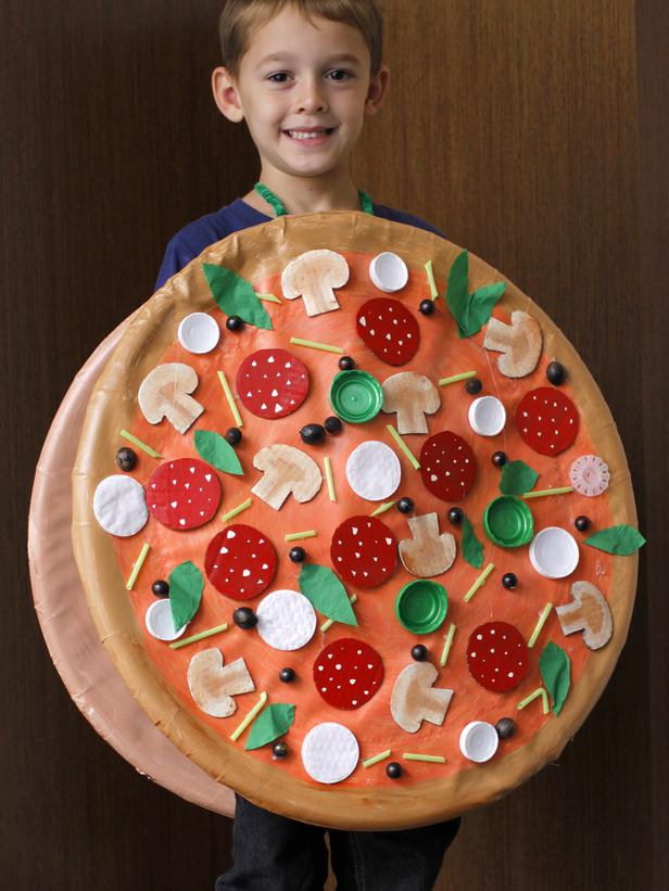 Full Pie Pizza Halloween Costume