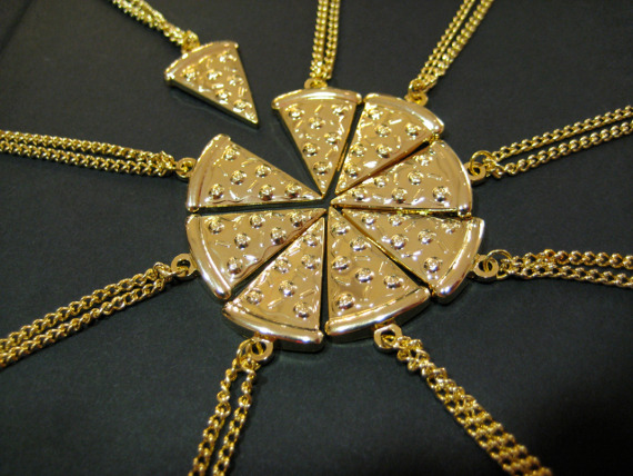 Pizza BFF Necklace