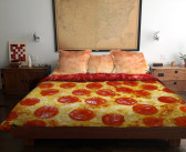 An Interview with Claire Manganiello-the Artist Behind the Pizza Bed