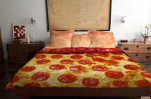 Pizza Bed by Claire Manganiello