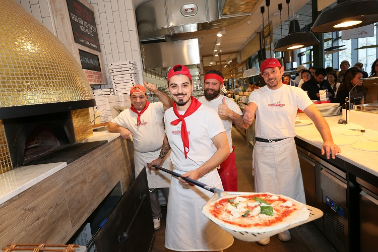 Pizza Class at Eataly
